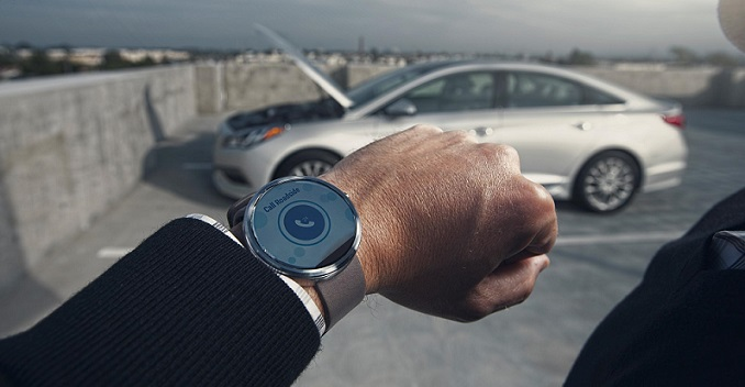 Drive Your Hyundai Car with Your Smartwatch