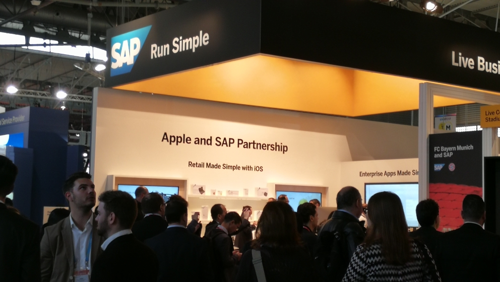 SAP and Apple at MWC 2017