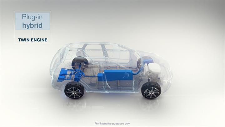 Volvo Twin Engine Plug In Hybrid