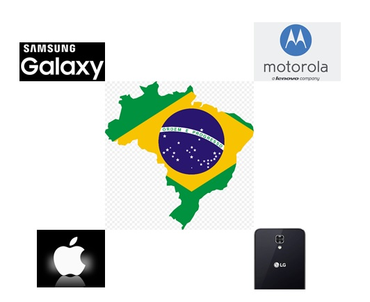 Brazil Top 4 Handset Vendor in Q1 2017