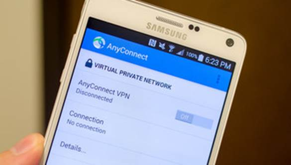 Figure 3 –Samsung and Cisco team up to bring Knox to the AnyConnect enterprise VPN app