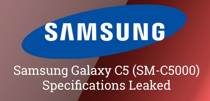 Galaxy C series for China