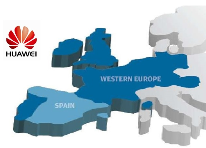 Huawei in West Europe
