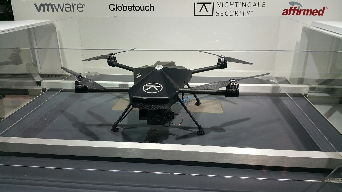MWC 5G Drone