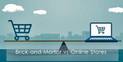 Online vs brick and mortar
