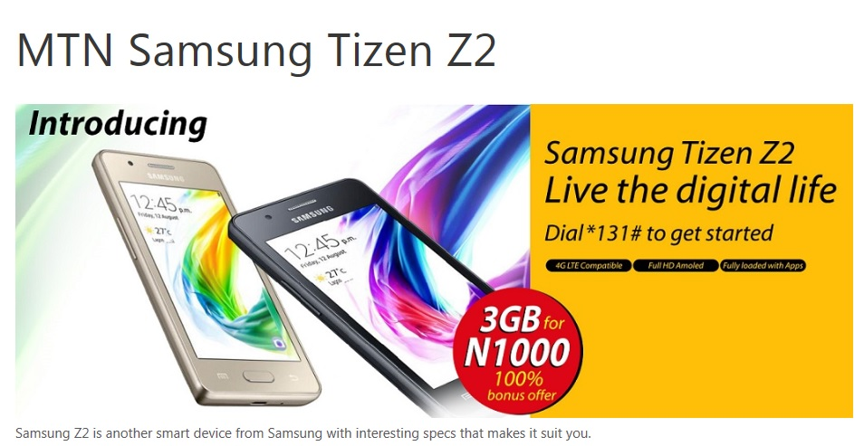 South Africa and Nigeria Join Tizen OS Smartphones Sales