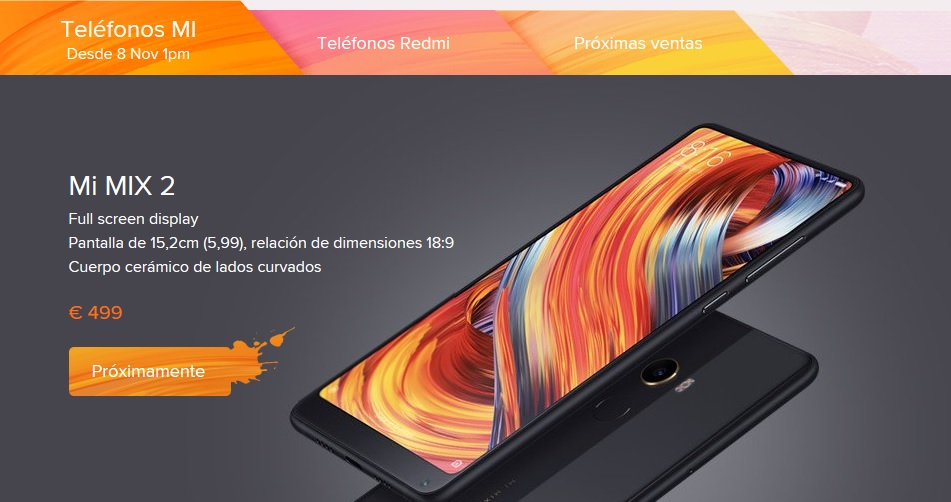 Xiaomi to Enter into Spain in Q4 2017